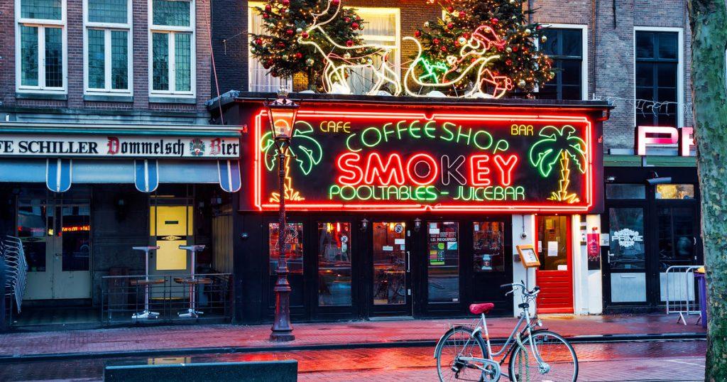 کافه های ماریجوانای آمستردام هلند