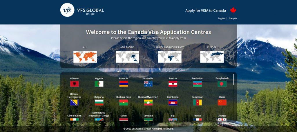VFS کانادا