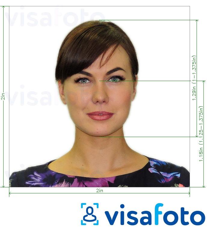 نمونه عکس برای لاتاری و ویزا