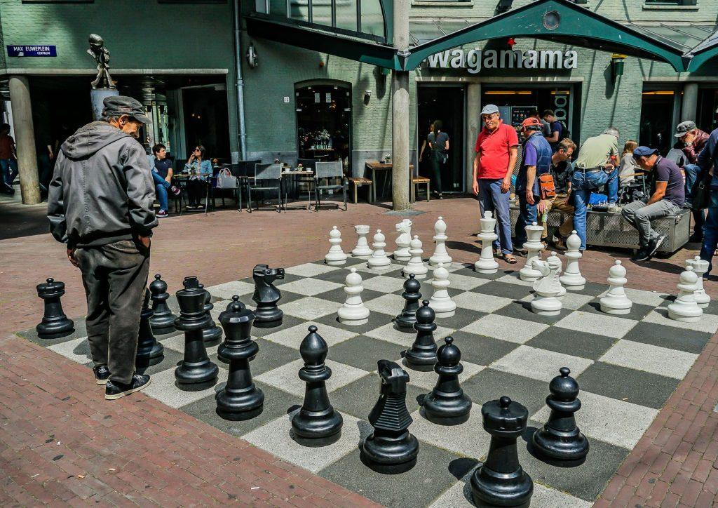 شطرنج در Max Euweplein