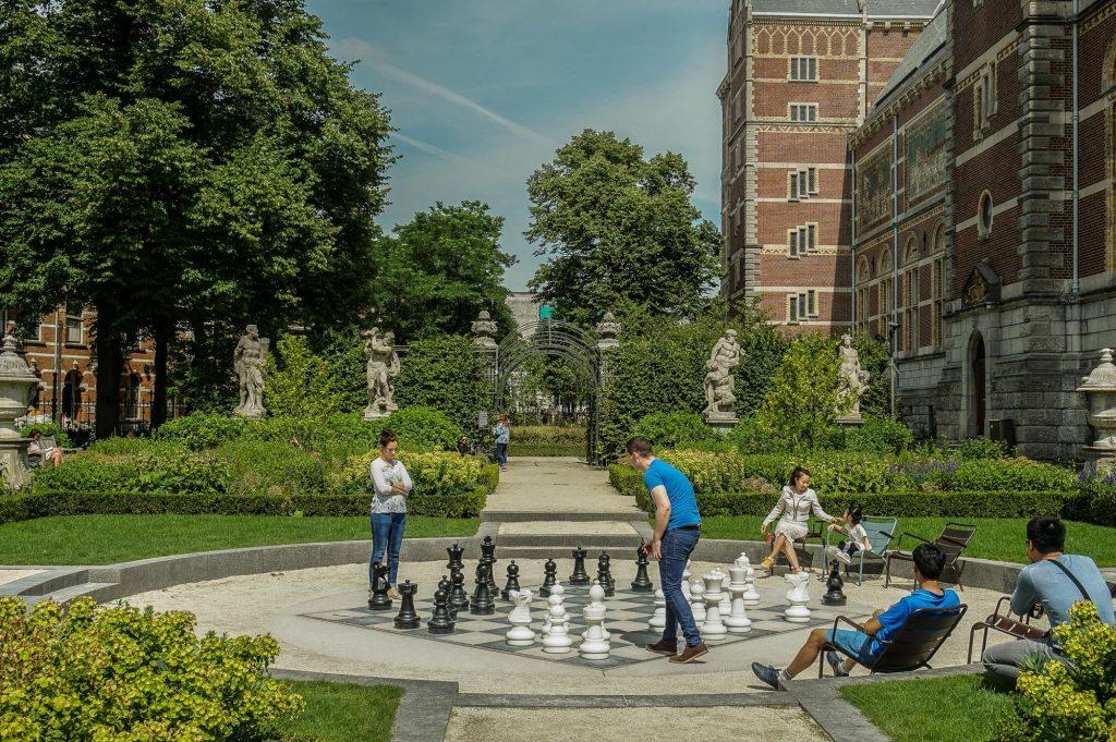 باغ های Rijksmuseum